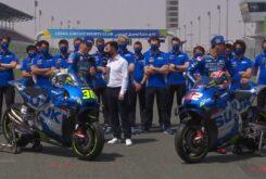Presentacion Suzuki MotoGP 2021
