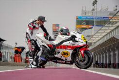Yamaha YZR M1 60 aniversario Crutchlow Test Qatar MotoGP (14)