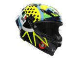 casco agv pista pg rr rossi winter test 2020 (1)
