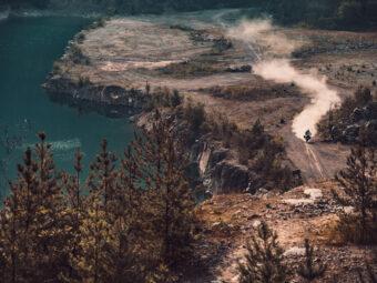 moto de campo turismo rural