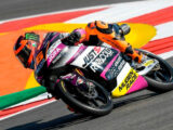 Andrea Migno pole Moto3 Portimao