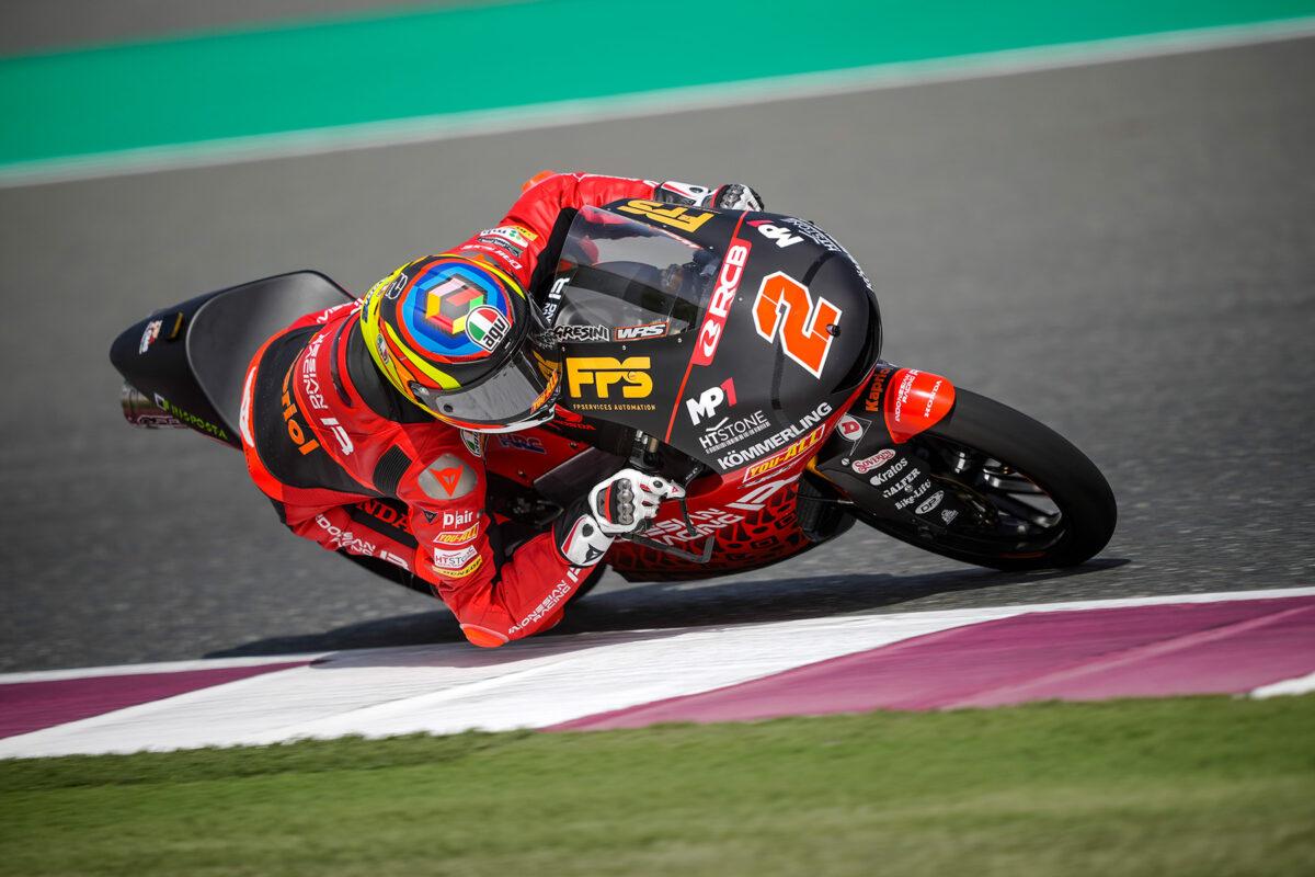 Rodrigo, el más rápido de Moto3 en un FP2 marcado por la lluvia - Motorbike Magazine