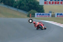 Marc Marquez derrapada MotoGP Portimao