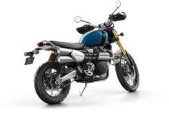 Triumph Scrambler 1200 XE 2021 color cobalt blue 4