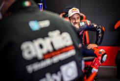 Andrea Dovizioso Test MotoGP Aprilia (2)