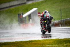 Andrea Dovizioso Test MotoGP Aprilia (4)