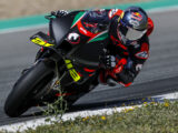 Andrea Dovizioso test Aprilia MotoGP 2021