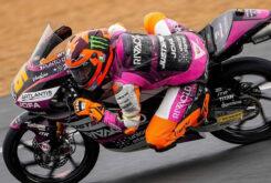 Andrea Migno pole Moto3 Le Mans