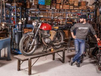 Exposicion Montesa 75 años Museu moto Basella 4