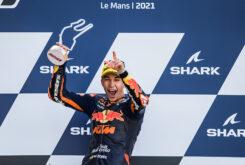Raul Fernandez victoria Moto2 Le Mans 2021 (1)