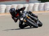 Triumph Speed Triple 1200 RS 2021 prueba circuito 7