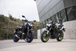 Yamaha MT 07 Kawasaki Z650 2021 prueba comparativa (1)