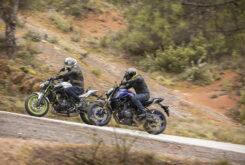 Yamaha MT 07 Kawasaki Z650 2021 prueba comparativa (2)