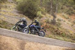 Yamaha MT 07 Kawasaki Z650 2021 prueba comparativa (3)
