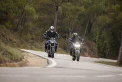 Yamaha MT 07 Kawasaki Z650 2021 prueba comparativa (5)