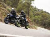 Yamaha MT 07 Kawasaki Z650 2021 prueba comparativa (8)