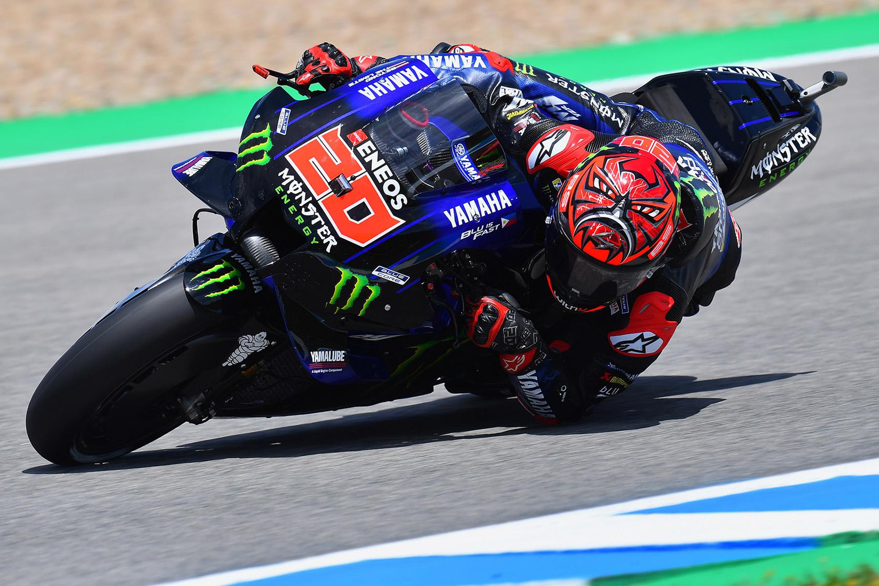 Fabio Quartararo ejerce de líder y se lleva la pole en Jerez, Márquez saldrá 14º - Motorbike Magazine