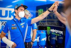 Alex Rins MotoGP lesion Montmelo