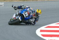 Barry Baltus salvada Moto2 Montmelo