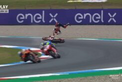 Caida Marc Marquez MotoGP Assen FP2