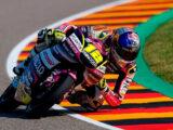 Filip Salac pole Moto3 Sachsenring