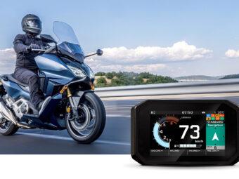 Honda Smartphone Voice Control Forza 750 (2)