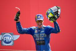 Joan Mir podio MotoGP Assen (2)