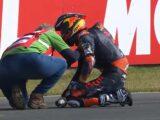 Pedro Acosta atropello Moto3 Assen