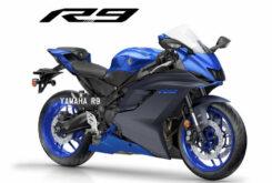 Yamaha R9 2022 bikeleaks supersport