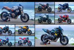 Honda CB650R preparaciones