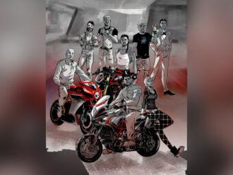 MV Agusta comic