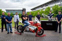 Norton Warwick moto electrica