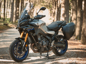 Yamaha Tracer 9 GT 2021 detalles 32