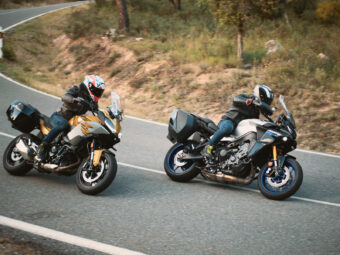 Yamaha Tracer 9 GT vs BMW F 900 XR 2021 15