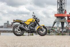 Yamaha XSR125 impact yellow (1)
