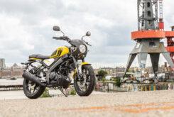 Yamaha XSR125 impact yellow (3)