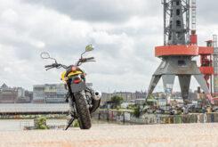 Yamaha XSR125 impact yellow (5)