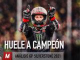 GP Silverstone analisis video poster