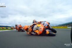 Marc Marquez caida Jorge Martin MotoGP