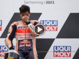 Marc Marquez victoria MotoGP Sachsenring video (2)