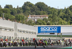 Moto Guzzi Fast Endurance European Cup 2021 carrera Vallelunga 10