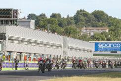 Moto Guzzi Fast Endurance European Cup 2021 carrera Vallelunga 12