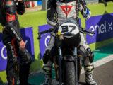 Moto Guzzi Fast Endurance European Cup 2021 carrera Vallelunga 22