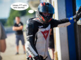 Moto Guzzi Fast Endurance European Cup 2021 carrera Vallelunga 26 comic