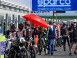 Moto Guzzi Fast Endurance European Cup 2021 carrera Vallelunga 35