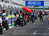 Moto Guzzi Fast Endurance European Cup 2021 carrera Vallelunga 36