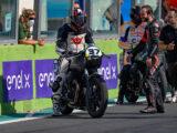 Moto Guzzi Fast Endurance European Cup 2021 carrera Vallelunga 37