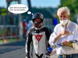 Moto Guzzi Fast Endurance European Cup 2021 carrera Vallelunga 38 comic