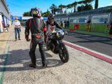 Moto Guzzi Fast Endurance European Cup 2021 carrera Vallelunga 45
