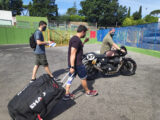 Moto Guzzi Fast Endurance European Cup 2021 carrera Vallelunga 50